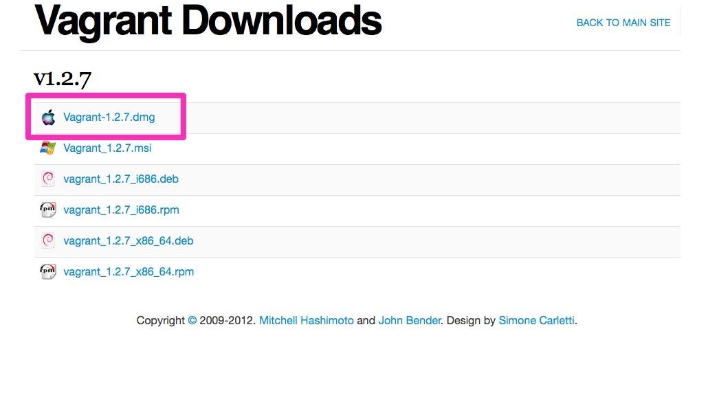 Vagrant - Downloads